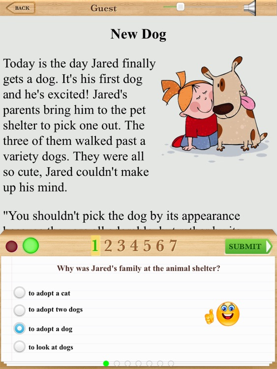 Third Grade Reading Comprehension Fiction Free