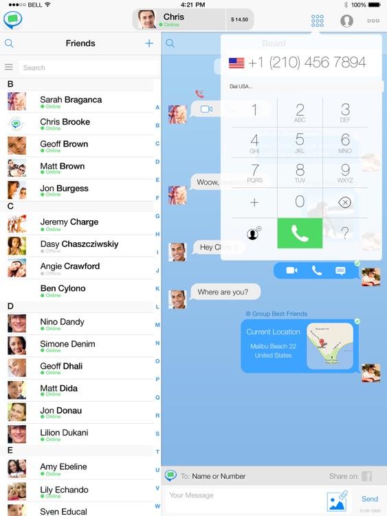 FriendCaller HD Video Chat screenshot-4