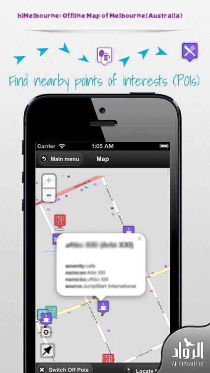 hiMelbourne: Offline Map of Melbourne(Australia)