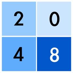 2048 Blue!