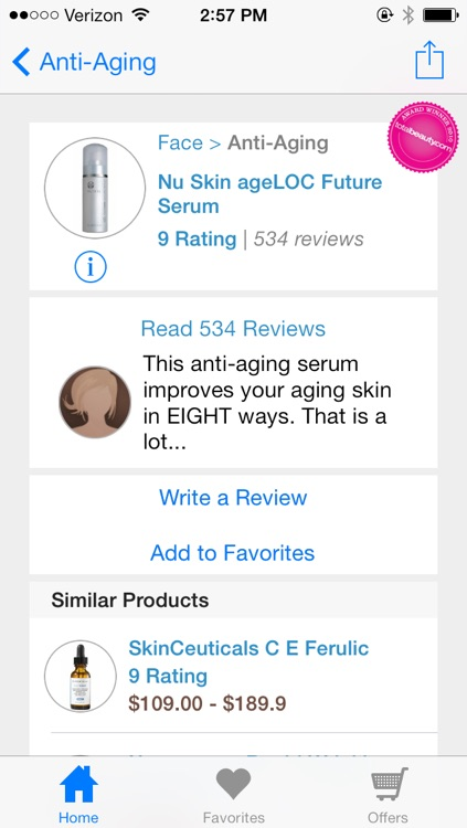 Beauty Product Reviews by TotalBeauty.com