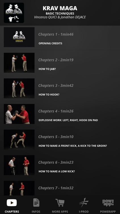 Krav Maga - Basic Techniques screenshot-0