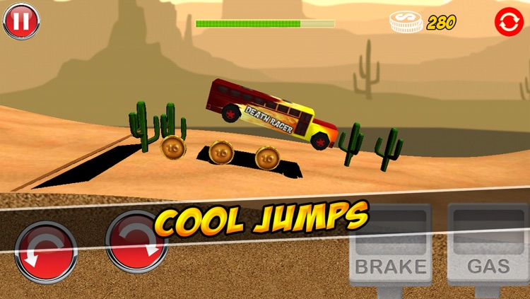 Ultimate 3D Extreme Monster Trucks Hill Climbing Game screenshot-4