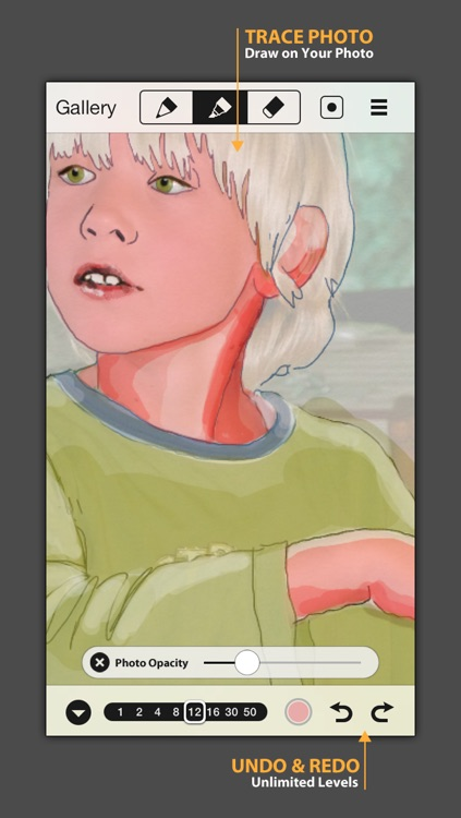 SketchTime - Quick Sketching & Photo Tracing screenshot-4