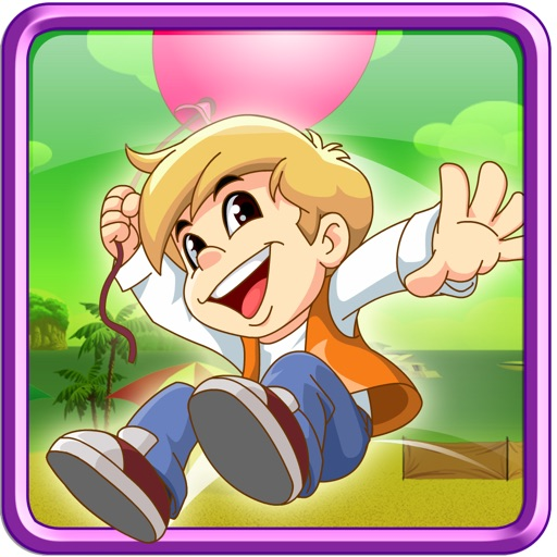 Helium Jumper : Endless Jumping Arcade Game , the Best Fun fall down Mania ride runner Free Games for kids and boys - a Cool Funny parachute app