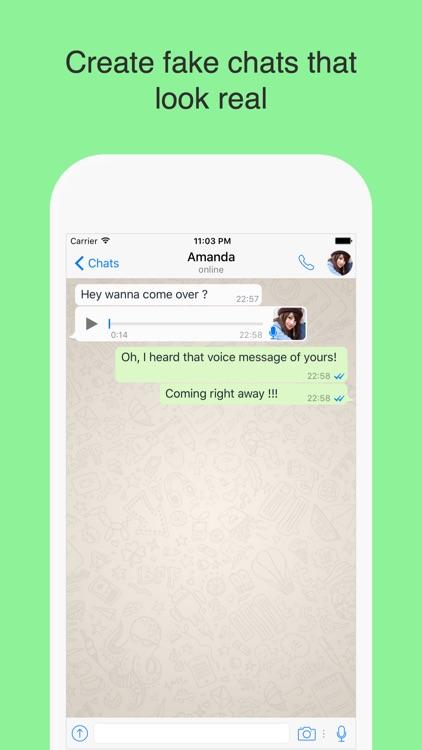 WhatsPrank Pro - Create fake chats for WhatsApp