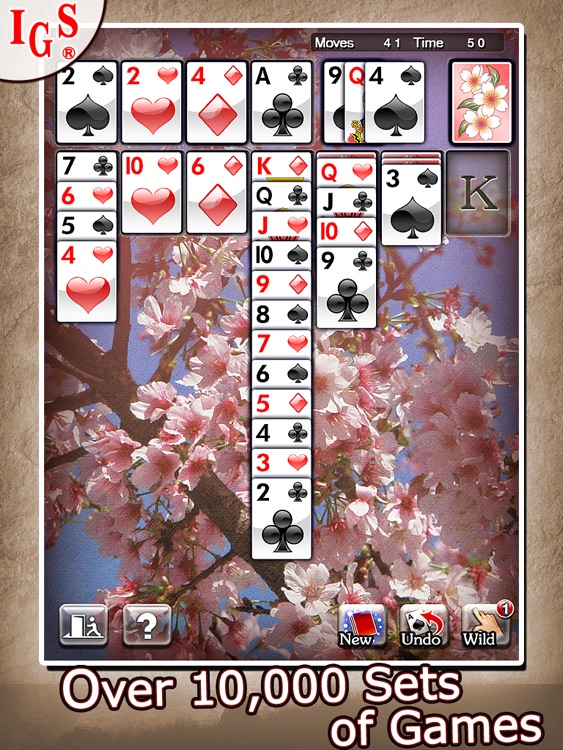 Great Solitaire HD screenshot-4