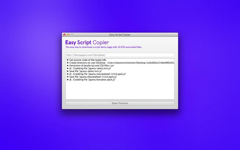 Easy Script Copier - MacGenius