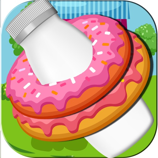 Donut Throwing Bottle Action Adventure - Top Best Ring Toss Baking Mania Free