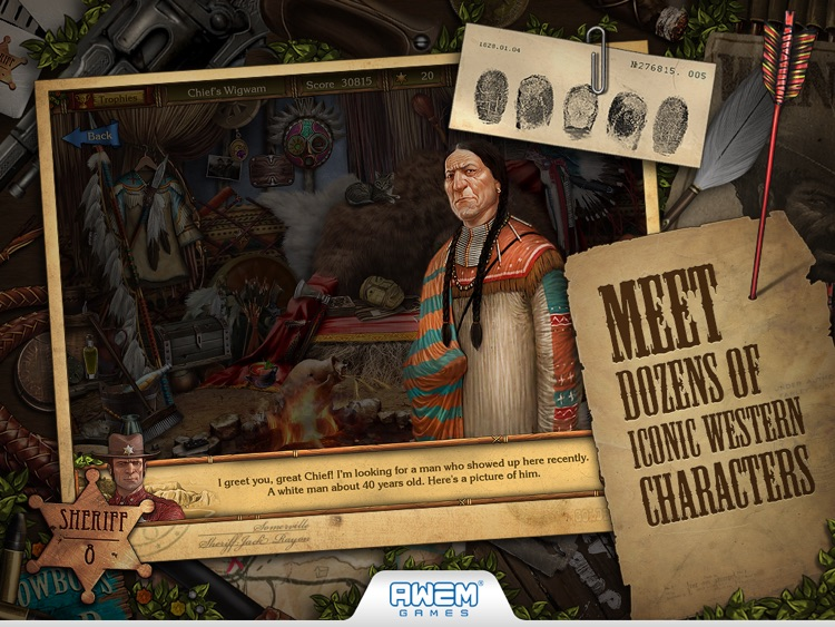 Golden Trails: Hidden Object Adventure (Premium) screenshot-4