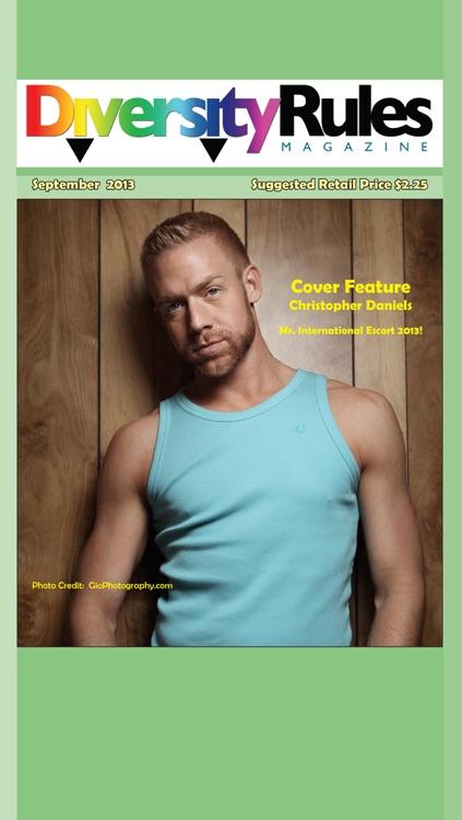 Diversity Rules Magazine: Queer community life publication screenshot-3