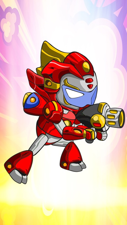A Future Kid Robot Run & Gun Fight Game By Running & Fighting Games For Teen Boys And Kids Free