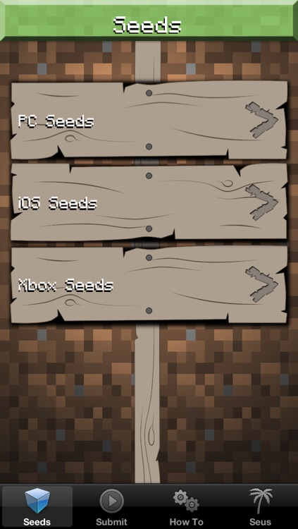 Seeds Pro for Minecraft Game Textures Skins