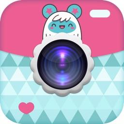 Kawaii Kam Pro : A Cute Girly Purikura Deco cam to create beautiful pic edits for ig