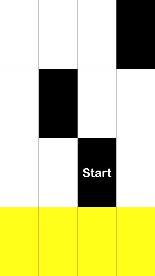 Tap Black Tiles, Avoid White Tiles Screenshot