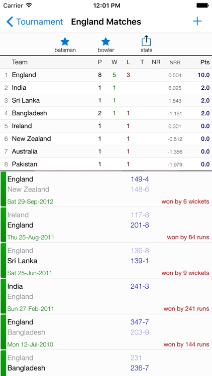 nxCricket screenshot-1