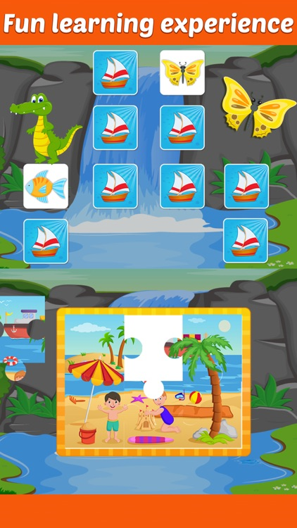 Row Your Boat - Sing Along and Interactive Playtime for Little Kids screenshot-3
