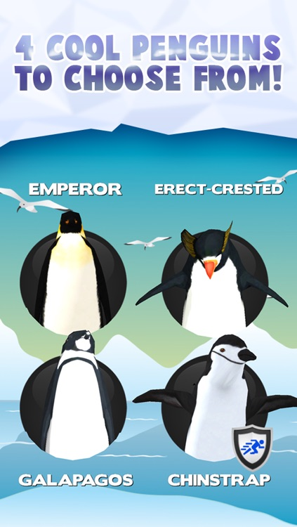 Fun Penguin Frozen Ice Racing Game For Girls Boys And Teens By Cool Games FREE screenshot-3