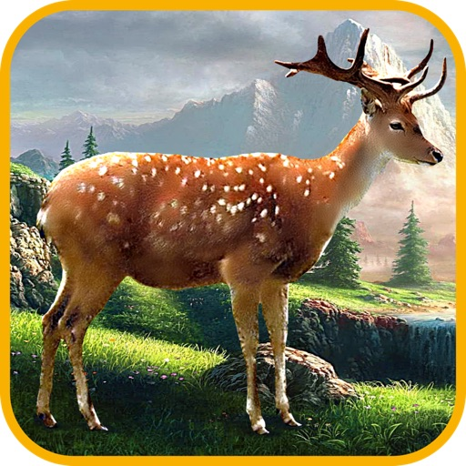 Deer Racer - Deer vs. Forest Hunter Animals