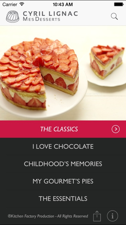 Cyril Lignac MesDesserts screenshot-1