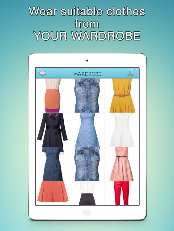 What Should I Wear for The Weather - iPad Version