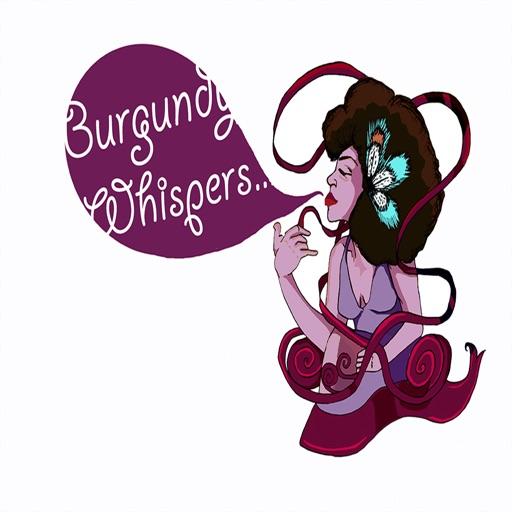 Burgundy Whispers