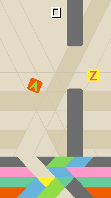 Flappy Letters - ABC instead of 2048 by Nicole Hofmann