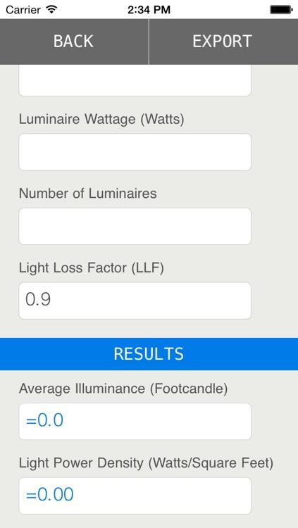 Light Calc: Lighting Calculator for Lighting Designers