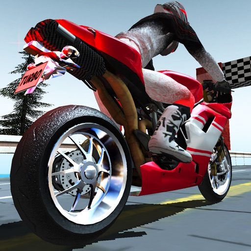 3D Highway Bike Rider Free