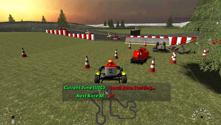 Go Kart Race screenshot-3