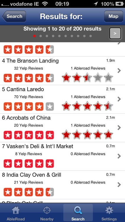 AbleRoad - Ratings and reviews for accessible places screenshot-2