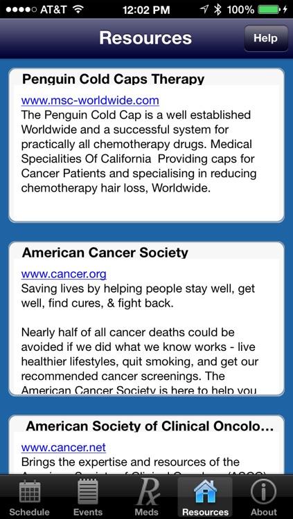 Chemo Aid screenshot-4
