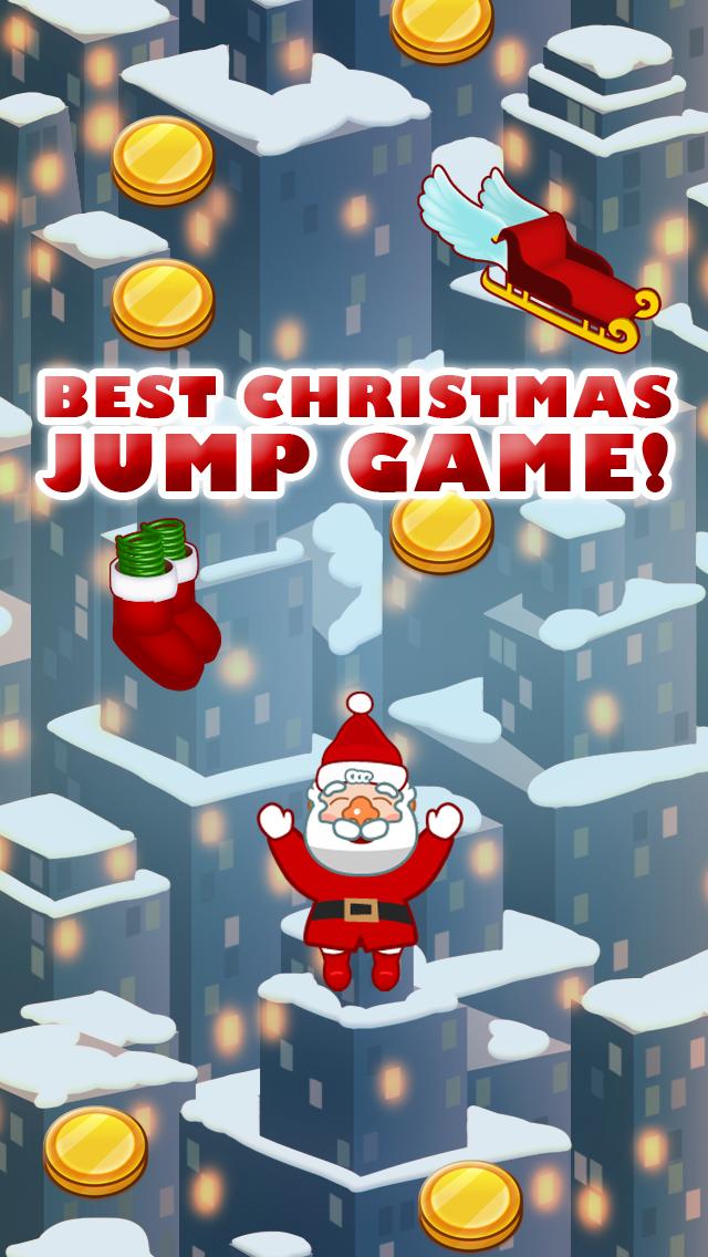 Mega Santa Jump Game