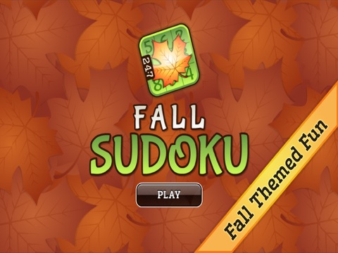 Fall Sudoku | App Price Drops