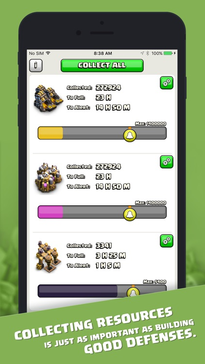 Resources for Clash of Clans
