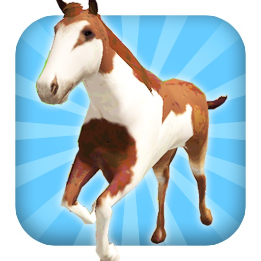A Horse Ride: Wild Trail Run & Jump Game - FREE Edition icon