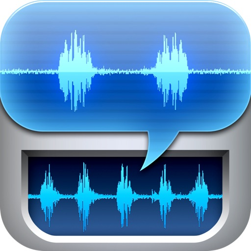 Recorder & Editor ~ iSaidWhat?! ~ Share audio to Twitter, Facebook, WiFi, Email, etc.