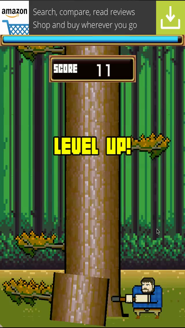 TIMBER the LumberJack Tree Chopping Man screenshot three