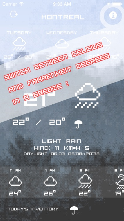 Pixel Weather - My Forecast report and conditions for local weathercast