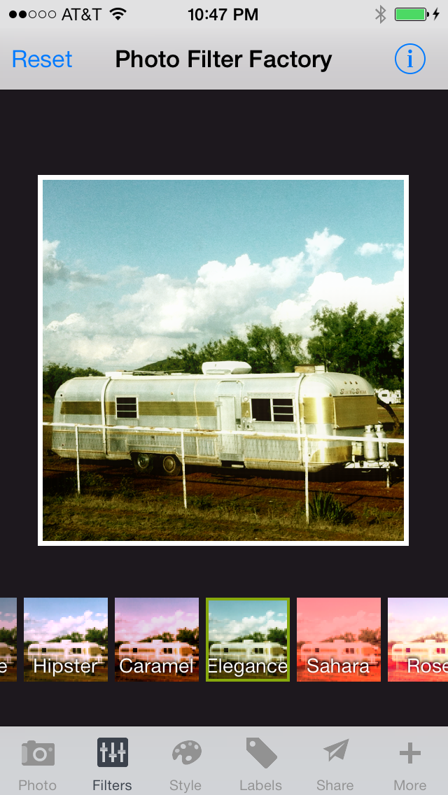 Photo Filter Factory - Vintage Camera + Lens FX + Picture Frame Border + Caption and Pic Editor for Instagram FREE screenshot two
