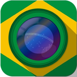 Cheer World Football Soccer Booth Sticker - 2014 Brazil Edition Awesome Stickiness Camera Pro