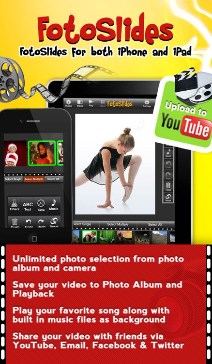 FotoSlides- For both iPhone and iPad