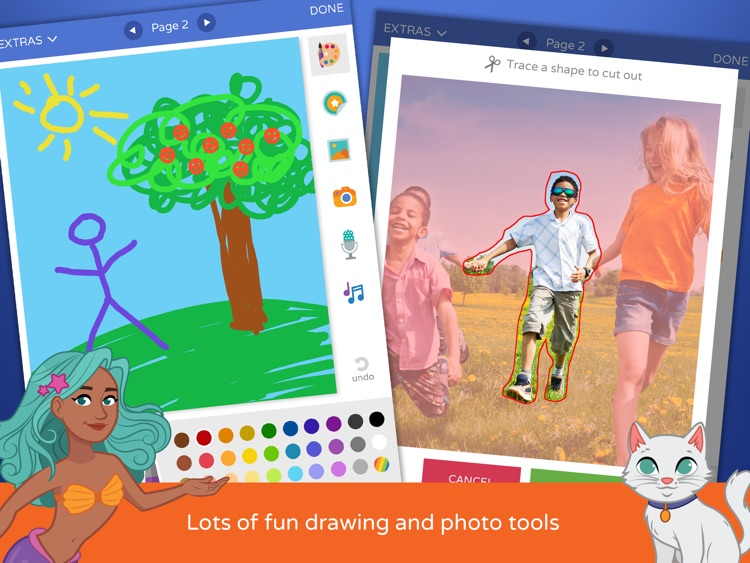 Scribble Press - Creative Book Maker for Kids screenshot-3