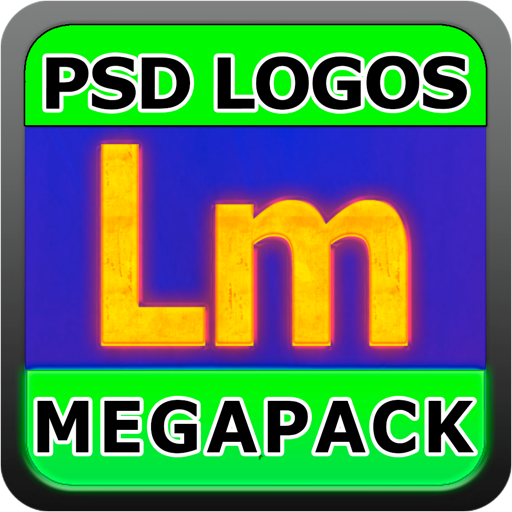 Logo Templates Mega Pack! for Adobe Photoshop with PSD Files