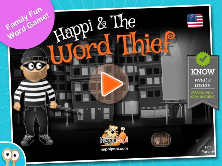 Happi & The Word Thief