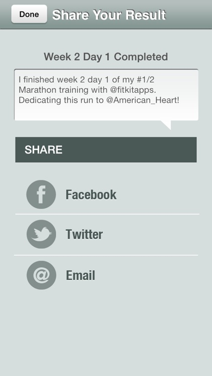 Half Marathon Trainer Free - Run for American Heart screenshot-3