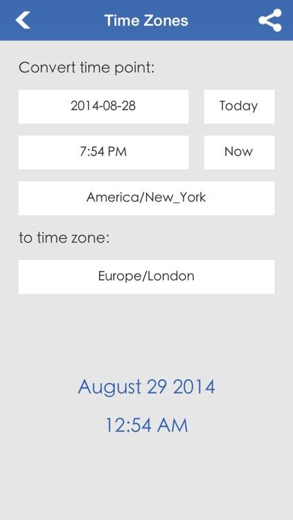 Date & Time Calculator (9 in 1) screenshot-4