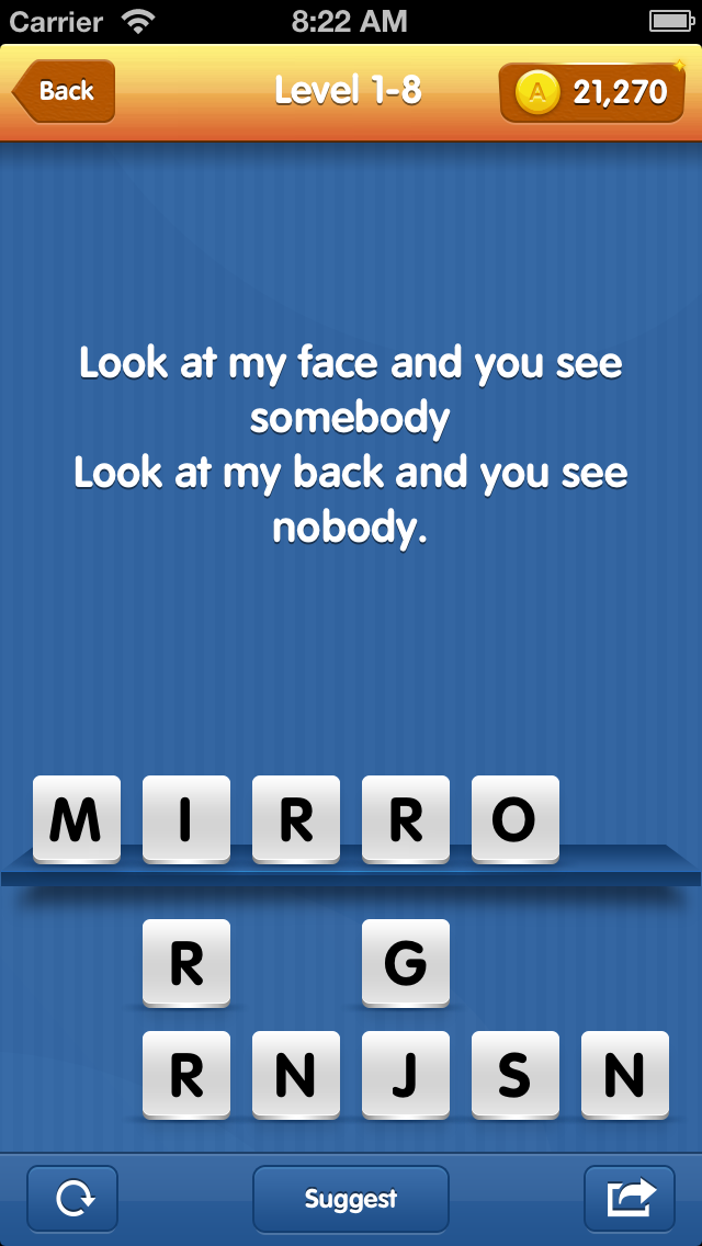 Riddles - Great Challenge for your Brain and Erudition. Fascinating intellectual game screenshot two