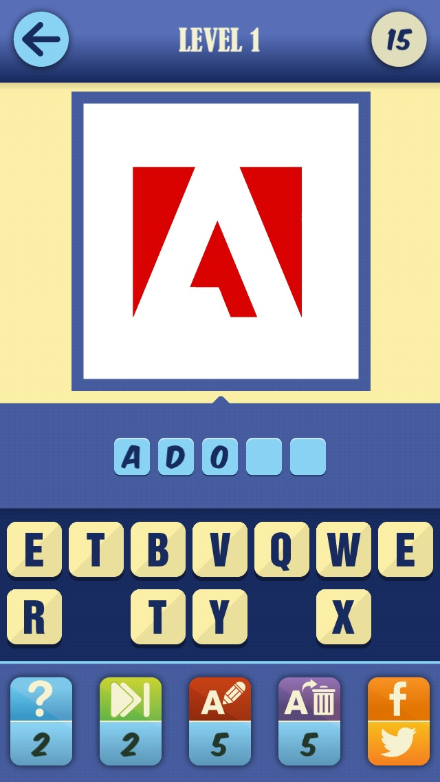 Screenshots of Guess The Brand Game - #1 Logotype pop quiz and trivia to test who knows what's that food, car or fashion company logo! for iPhone
