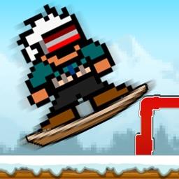 Pixel Snowboard Cross : Trials
